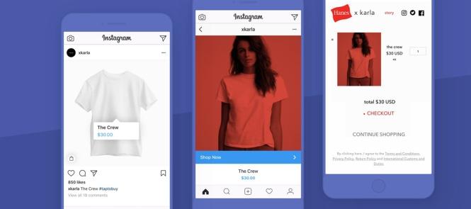 Tem uma novidade muito interessante que está sendo divulgado por Instagram  e Shopify – que é a possibilidade de criar uma experiência de compra – de  ... c39e01a406e